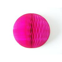 Boule alvéolée en papier