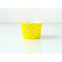 Caissettes à cupcakes rigides petit pois