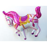 Ballon aluminium cheval de cirque