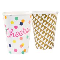 12 gobelets carton design