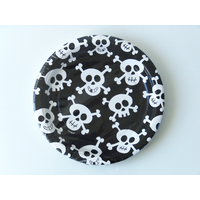 8 assiettes carton dessert pirate