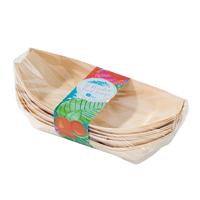 12 assiettes carton creuse en bois de bouleau