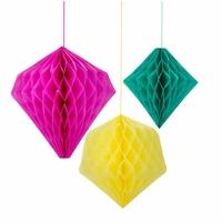 Formes géométriques alvéolées