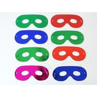 8 Masques de super-héros enfant en carton