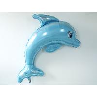 Ballon mylar dauphin