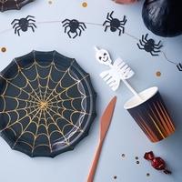 8 gobelets carton halloween