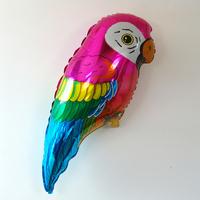 Ballon mylar perroquet