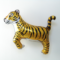 Ballon tigre en aluminium