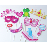 10 Accessoires photobooth princesse