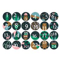 24 surprise et cadeaux garcon pour calendrier avent achat vente - Chiffres pour calendrier de l avent a imprimer ...