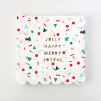 16 serviettes jetables Noel