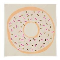 16 serviettes jetables  donut