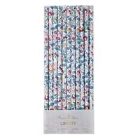 24 pailles en papier Liberty Betsy