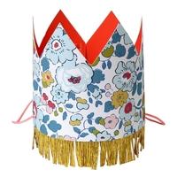 8 couronnes de fête Liberty Betsy en carton