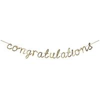 Guirlande lettres Congratulations