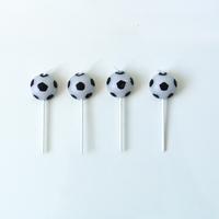 4 bougies ballon de foot
