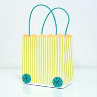 8 sacs cadeaux Silly Circus Meri Meri