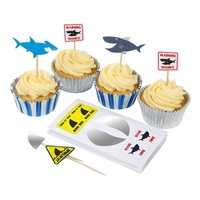 kit cupcake requin