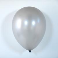 10 ballons de baudruche argent