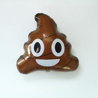 Ballon emoji caca