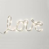 Mot lumineux : Love