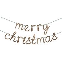 Guirlande lettres Merry Christmas