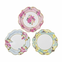 12 assiettes carton style porcelaine ancienne