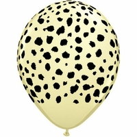 10 ballons de baudruche imprimés guépard