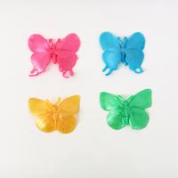 4 papillons élastiques