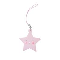 Charm étoile rose