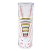 12 gobelets carton lapin Pâques