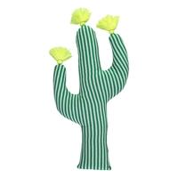 Coussin cactus en coton bio
