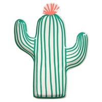 12 assiettes cactus en carton