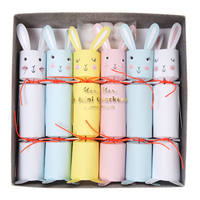 6 mini papillottes surprise lapin