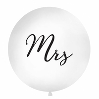 Ballon géant mariage Mrs