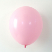 10 ballons de baudruche latex rose clair