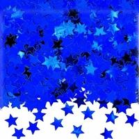 Confettis étoiles bleues
