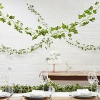 5 guirlandes feuilles de vigne