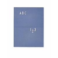Letter board A4 bleu