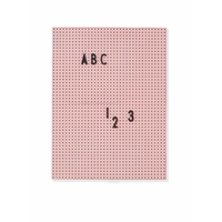 Letter board A4 rose