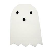 20 serviettes papier découpe fantôme