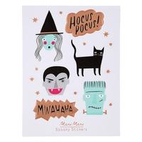 18 stickers Halloween