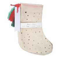 3 sacs cadeaux chaussettes de Noël