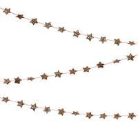 Mini guirlande étoiles dorées