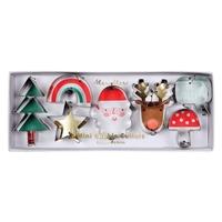 7 emporte-pièces icônes de Noël