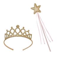 Tiare et baguette de princesse