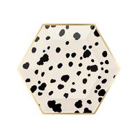 8 assiettes dessert carton dalmatien