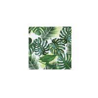 20 serviettes jetables palmier