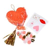 3 mini pinatas coeur