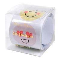 Rouleau de 50 stickers emoji
